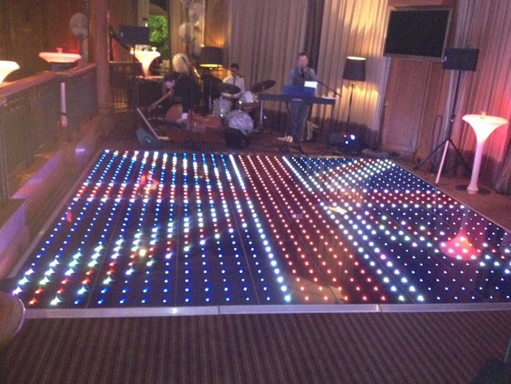 Pixel Video Dance Floor Hire