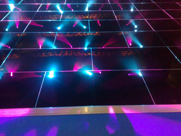 Pure Black Dance Floor