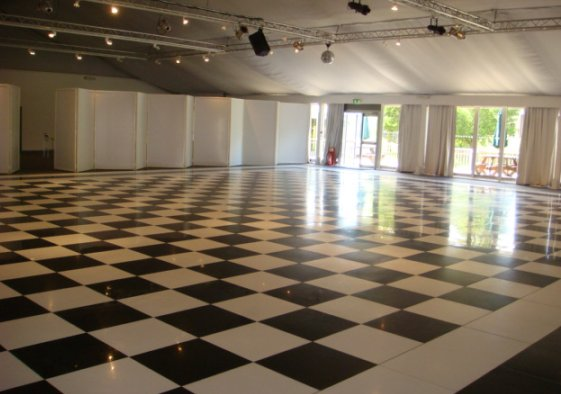 Installed Dance Floor