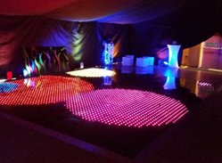 LED Dance Floor Hire Services