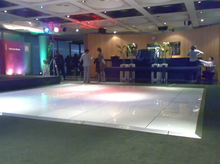 White Dance Flooring