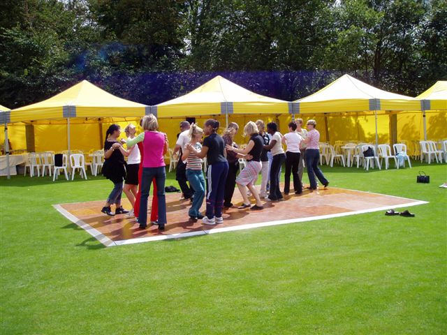 Dance floor Hire for the outside