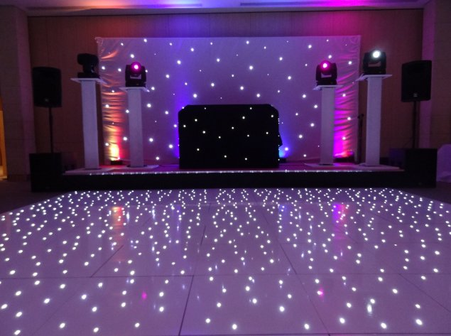 LED Dance Flooring Hire