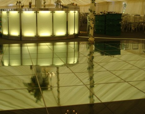 Mirrored Dance Floor And Flooring Hire For The Uk
