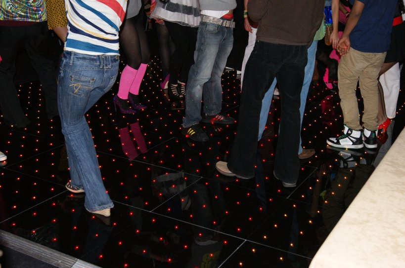 Colour Changing Retro Dance Floor Hire