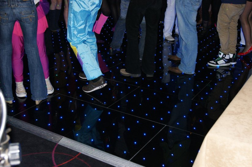 Pixel Retro Dance Floor Hire